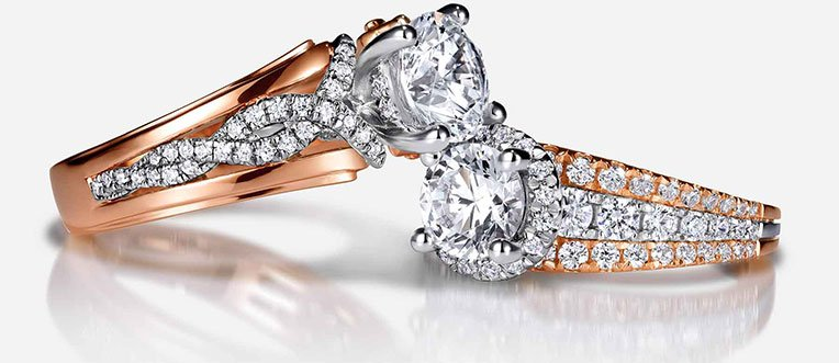 Gabriel & CO beautiful diamond engagement ring