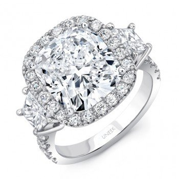 Uneek Diamond Engagement Ring